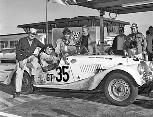 George Waltman after the 1968 Daytona 24-Hour Endurance Race