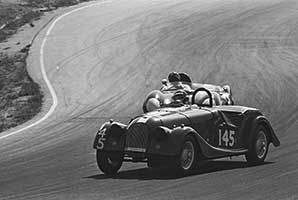 Lew Spencer in Babydoll IV Los Angeles Times Grand Prix at Riverside, California in 1962