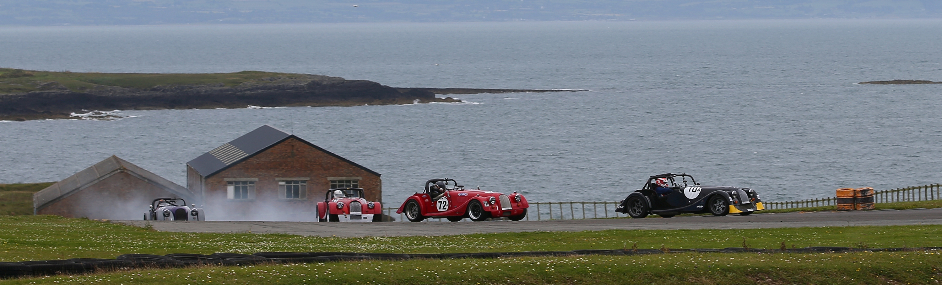 Morgan Challenge by the seaside at Anglesey